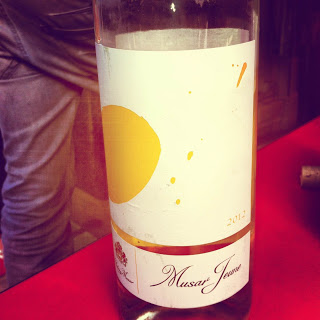 musar front label