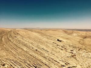 arid landscape jordan