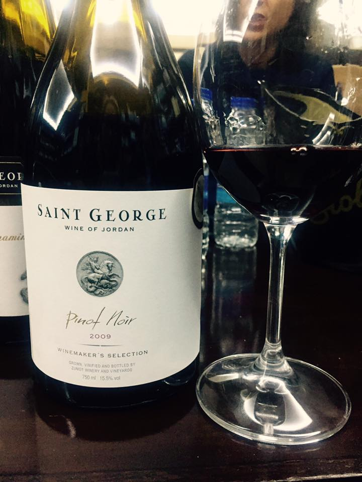The wines of Saint George, Jordan
